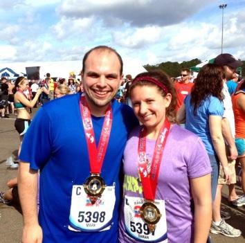 We ran a marathon!